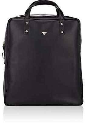 Fontana Milano 1915 Men's Leather Tote Bag - Black