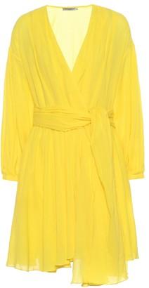 Three Graces London Carina cotton wrap dress