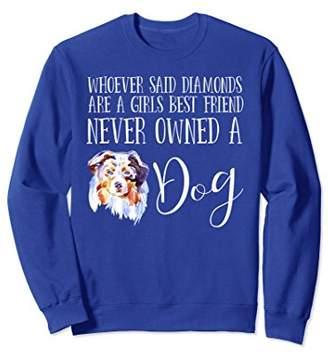 Australian Shepherd Dog Lover Sweatshirt Love My Dog Aussie