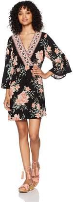 Billabong Women's Divine Printed Woven Dress
