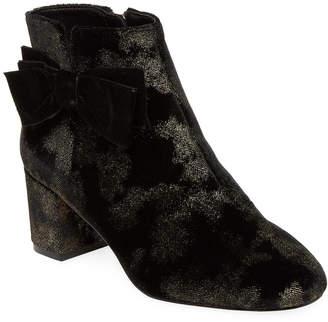 Kate Spade Langley Velvet Ankle Boot
