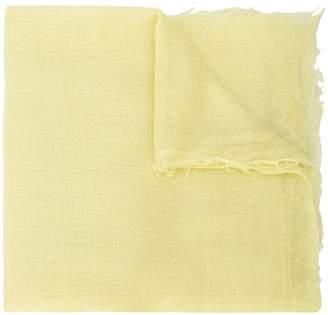 Rick Owens frayed scarf
