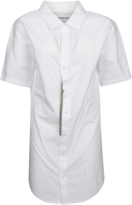 Alexander Wang Short-sleeve Shirt Dress