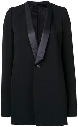 Rick Owens classic single-breasted blazer