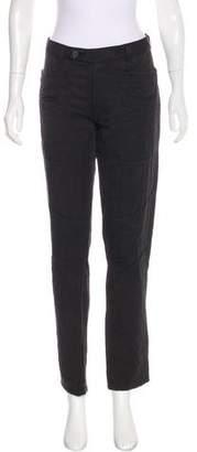 Bottega Veneta Mid-Rise Quilted Jeans