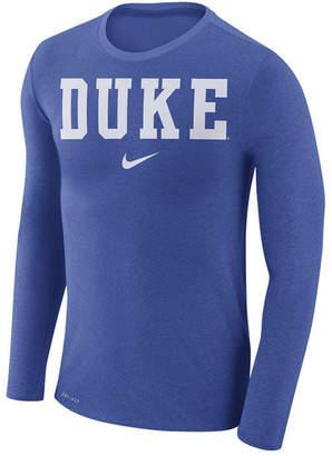 Nike Men's Duke Blue Devils Marled Long Sleeve T-Shirt
