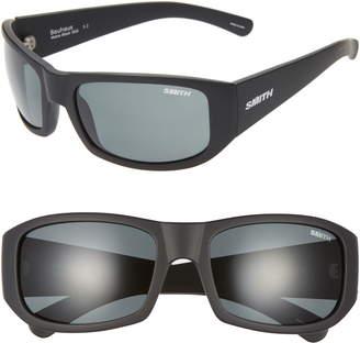 19da7bde0338a Smith Bauhaus 59mm ChromaPop(TM) Polarized Wraparound Sunglasses