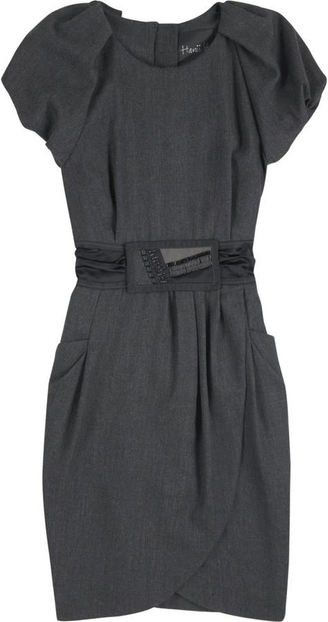 Hanii Y Sequin belt dress