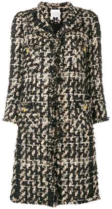 Edward Achour Paris fringed coat