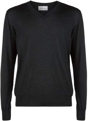 Brioni Lightweight V-Neck Sweater