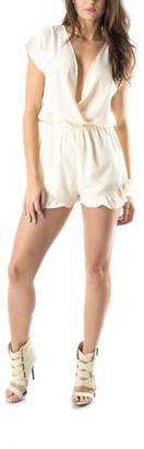 Honey Punch Ivory Spring Romper