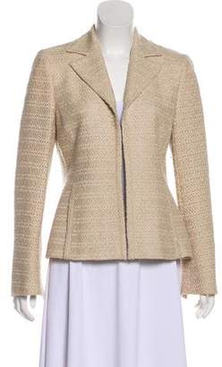 Akris Notch-Collar Long Sleeve Blazer