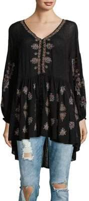 Free People The Arianna Embroidered Tunic