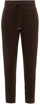Max Mara Leisure - Bric Track Pants - Womens - Dark Brown