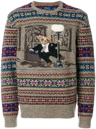 Polo Ralph Lauren The Iconic Bear isle sweater