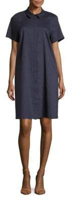 Lafayette 148 New York Shaylin Linen Shirtdress