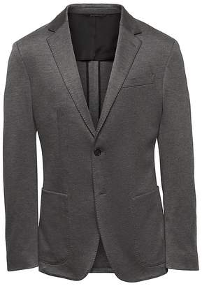 Banana Republic Slim Stretch Knit Blazer