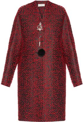 Balenciaga Chintz tweed wool-blend coat