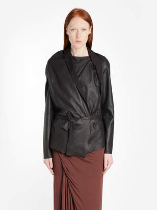 Rick Owens Lilies Leather Jackets