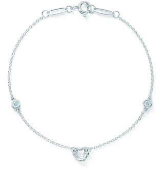 Tiffany & Co. Elsa Peretti® Diamonds by the Yard® Open Heart bracelet