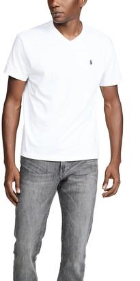 Polo Ralph Lauren V Neck Classic Fit Tee Shirt