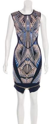 Herve Leger Embellished Tabae Dress