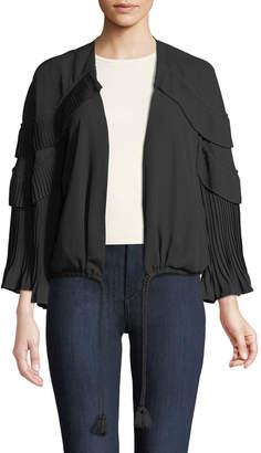 Kobi Halperin Carissa Tiered-Ruffle Jacket