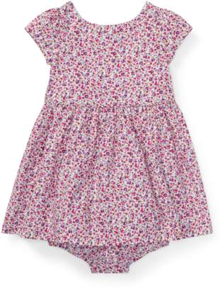 Ralph Lauren Kids Floral Fit-And-Flare Dress