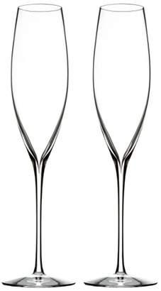Waterford 'Elegance' Fine Crystal Champagne Flutes