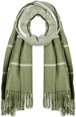 Beautiful Nomad Pashmina Shawl Wrap Scarf in Solid and Plaid Pattern