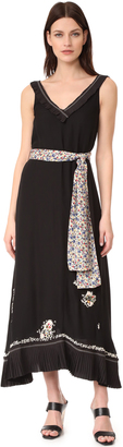 Derek Lam 10 Crosby Embroidered Cami Dress $895 thestylecure.com