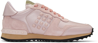 Valentino Pink Rockstud Sneakers $795 thestylecure.com