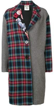 Semi-Couture Semicouture Claudette patchwork coat