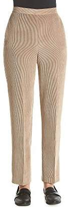 Alfred Dunner Twilight Point Solid Color Pants