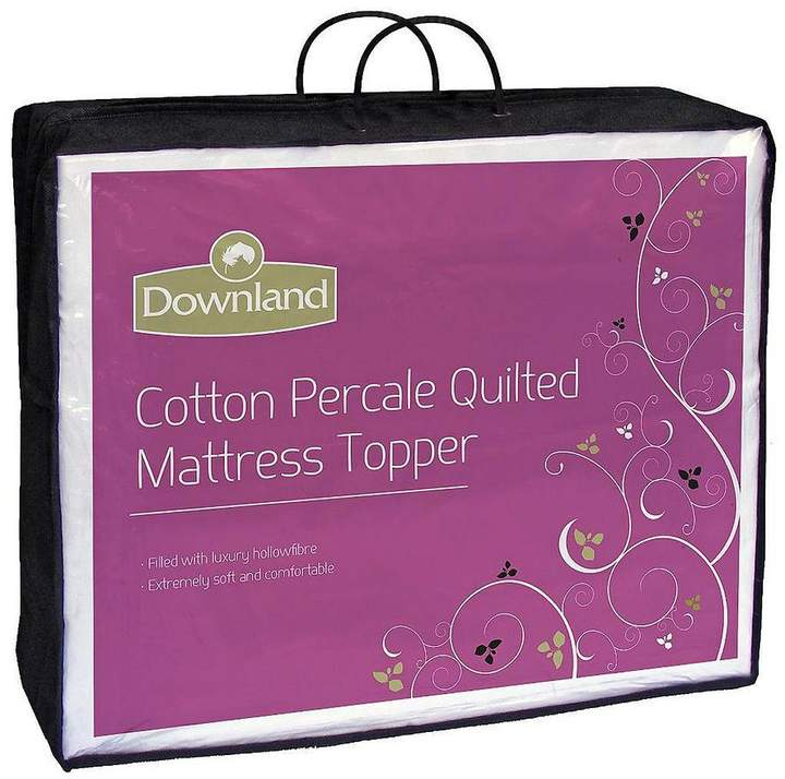 Quilted Cotton Percale Mattress Topper
