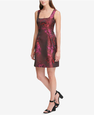 Tommy Hilfiger Jacquard Fit & Flare Dress