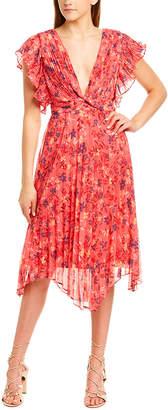 Talulah Pleated A-Line Dress