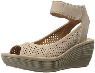 Clarks Women's 889307209244 Wedge Sandal