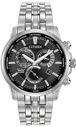 Citizen Men's Eco-Drive Perpetual Calendar Watch with Month/Day/Date