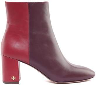 Tory Burch Brooke Bi-colour Leather Booties