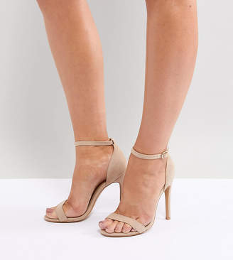 Barely There Truffle Collection Wide Fit Heeled Sandals