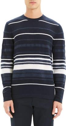 Theory Men's Hills Stripe Cashmere Sweater
