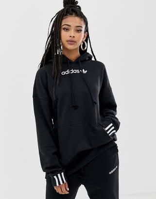 adidas Coeeze hoodie in black