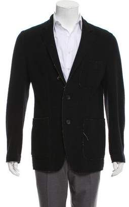 Issey Miyake Woven Button-Up Jacket