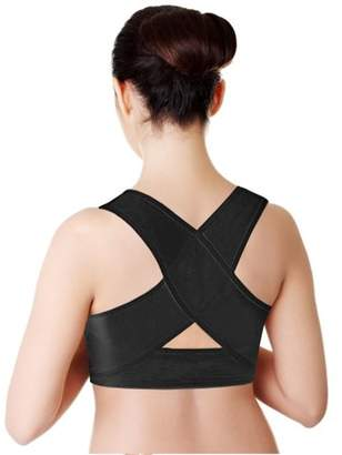 Pureaid Comfortable Posture Corrector Upper Shoulder With Push Up Bra For Women