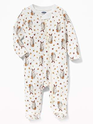 Old Navy Halloween Zip-Front Footed One-Piece for Baby