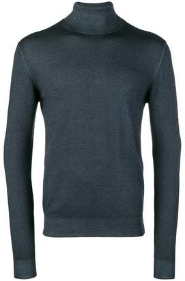 Etro fitted turtleneck jumper