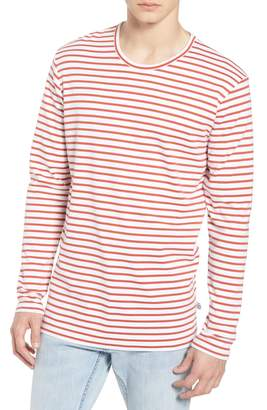 WAX LONDON Duval Stripe Long Sleeve T-Shirt