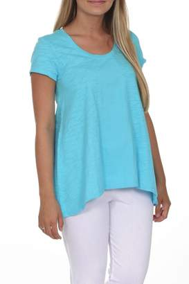 Neon Buddha Blue Casual Top