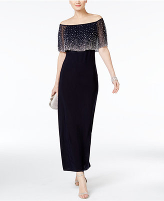 MSK Off-The-Shoulder Embellished Gown $119 thestylecure.com